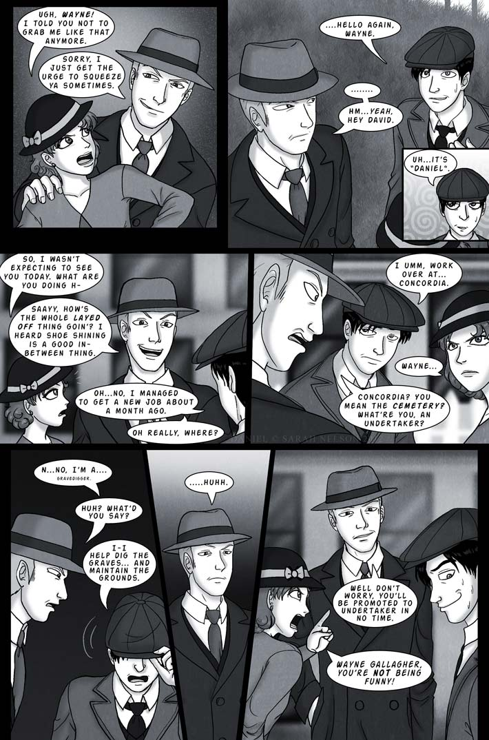Chapter 1, Page 8: Gravedigger