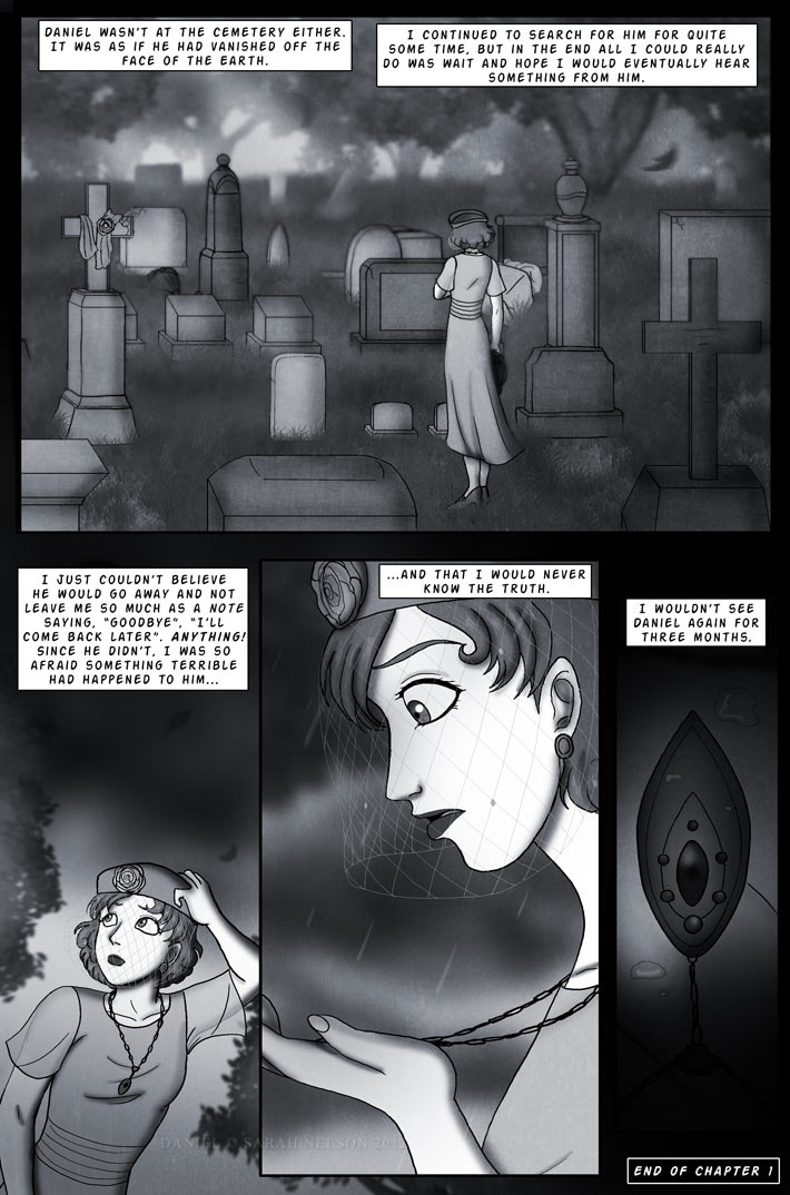 Chapter 1, Page 19: Mourning A Loss