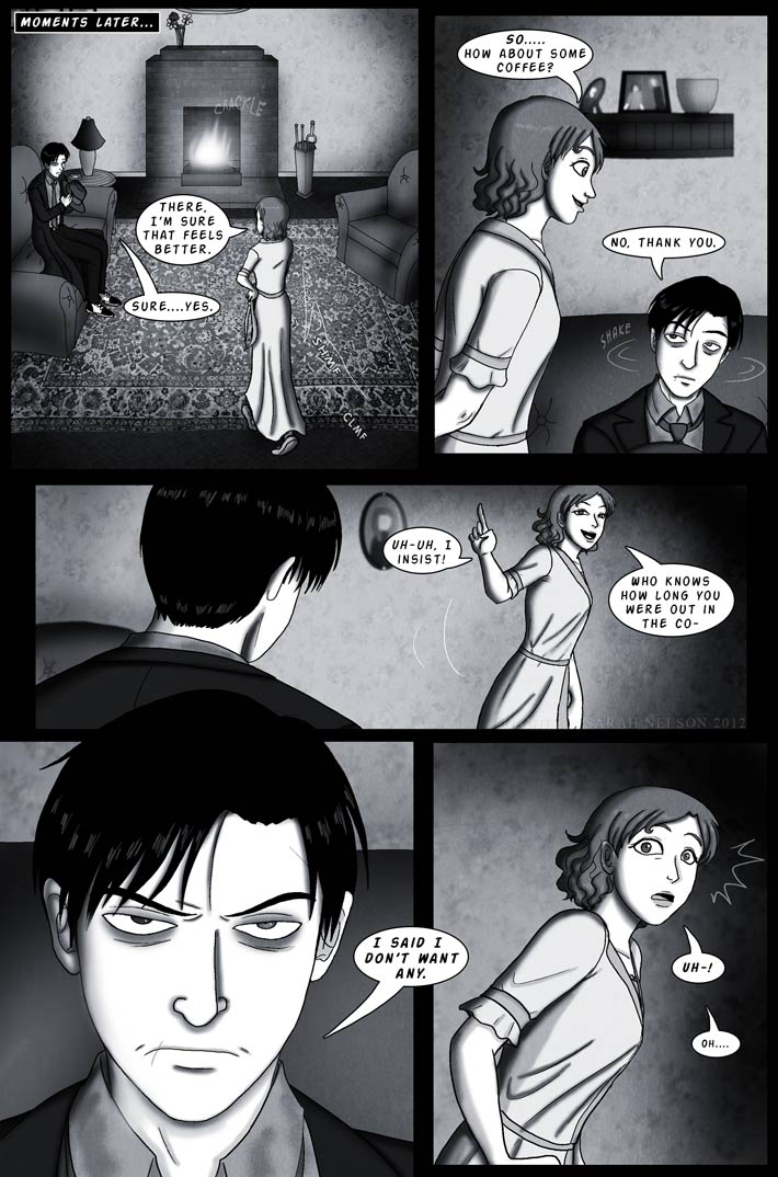Chapter 2, Page 9: A Flash of Anger
