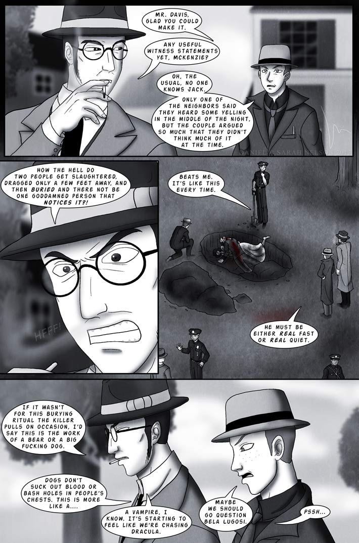 Chapter 3, Page 2: Silent Funerals