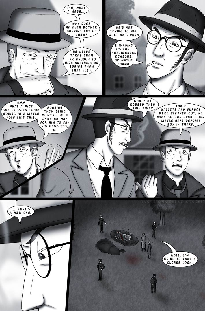 Chapter 3, Page 3: Grave Robber