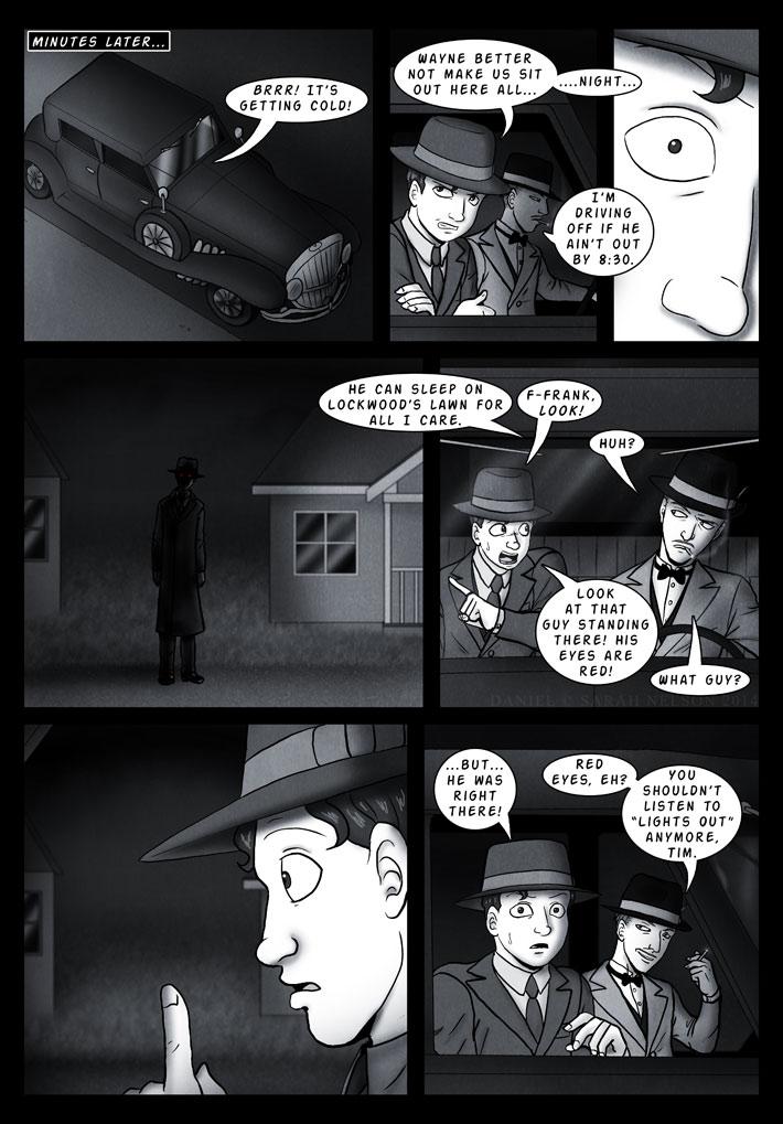 Chapter 4, Page 12: Jumping At Shadows