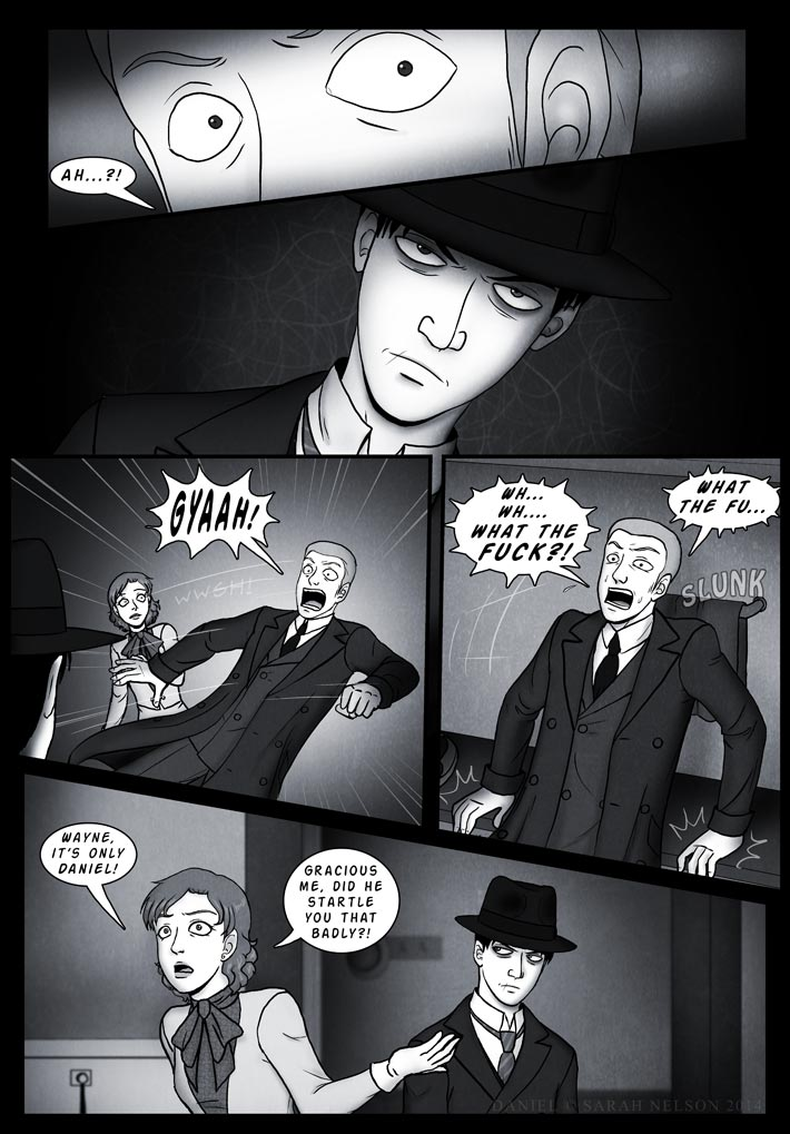 Chapter 4, Page 15: Unexpected Arrival