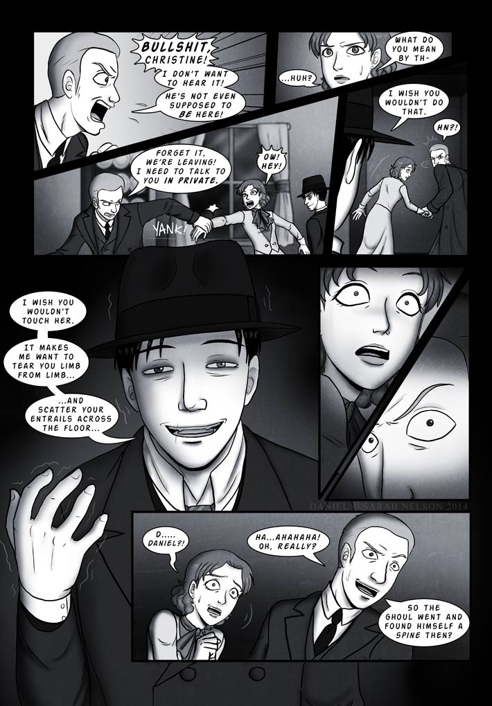 Chapter 4, Page 18: Macabre Thoughts