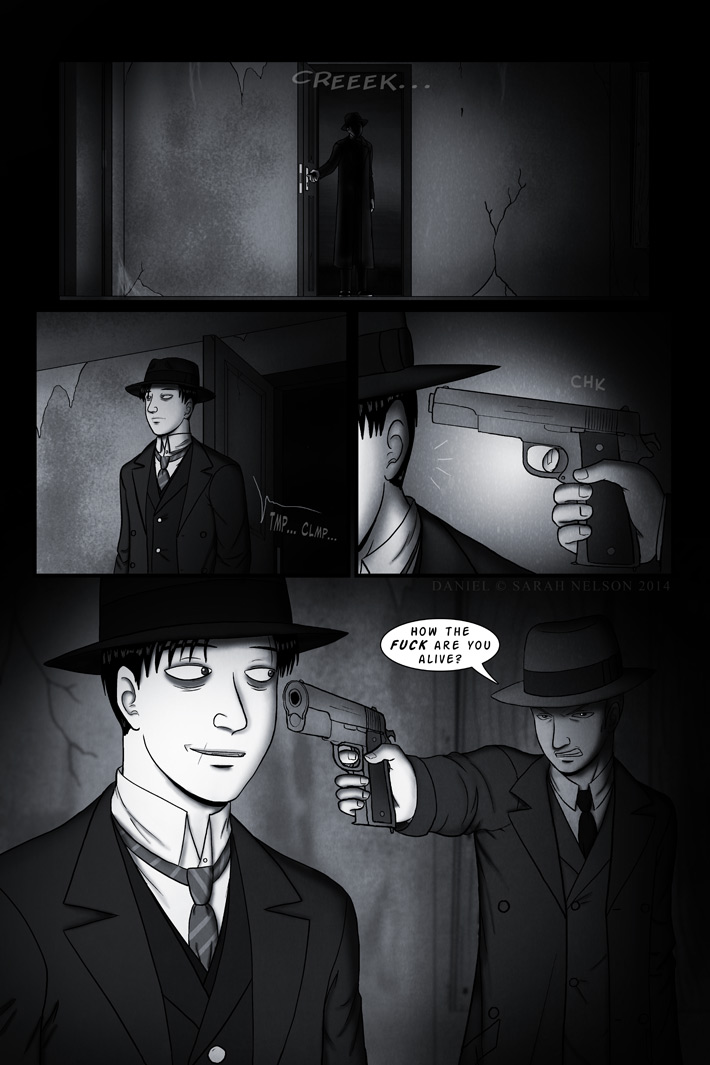 Chapter 5, Page 4: Unwelcome