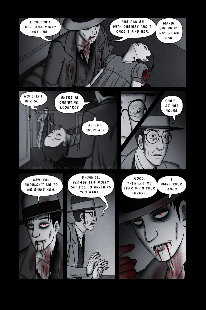 Chapter 10, Page 27: Blood For Blood