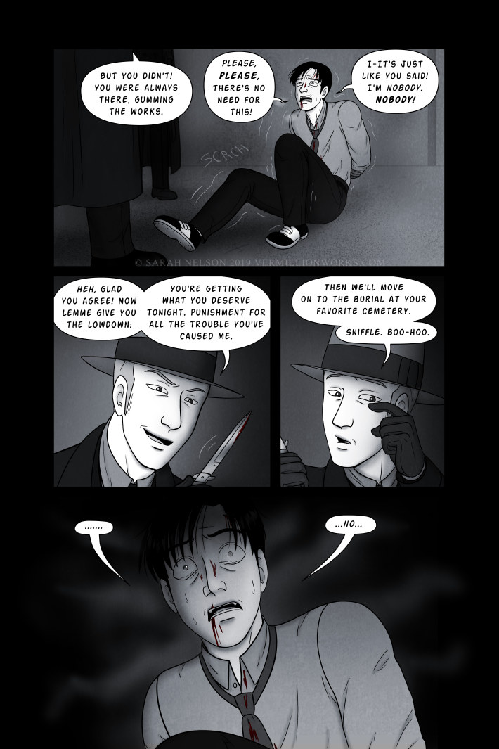 Chapter 11, Page 11: Crime & Punishment